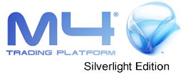 M4 Silverlight Web Browser Based Trading Platform